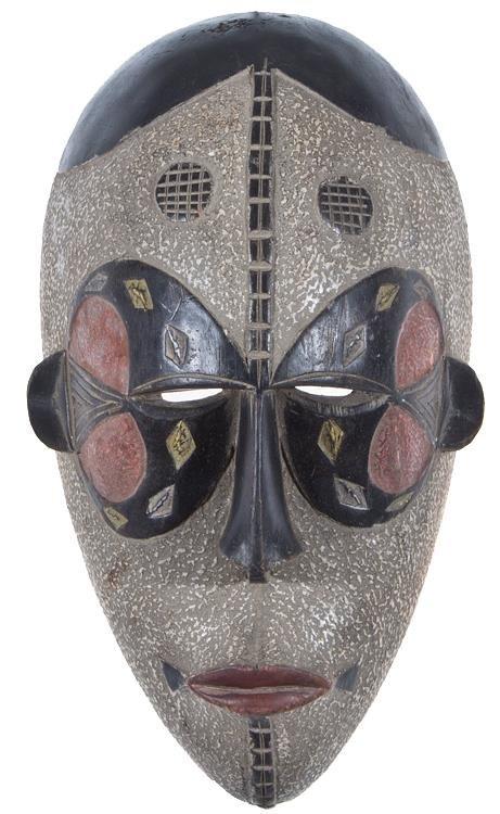 afrikanische maske tierpr paration michael dittert gbr. Black Bedroom Furniture Sets. Home Design Ideas