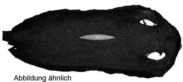 Rochenleder lang Rautenschliff