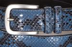 Gürtel Python Für Körperumfang 110 cm bis...