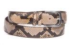 Gürtel Python für Körperumfang 110 bis 120cm